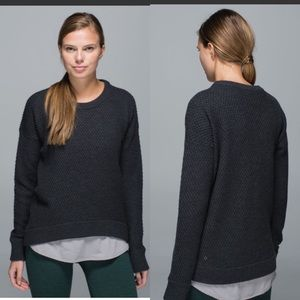 Lululemon Yogi Crew Wool Sweater Sz 4